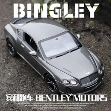 цена на Welly 1:24 Bentley Continental GT toy car model simulation alloy car model Christmas gifts