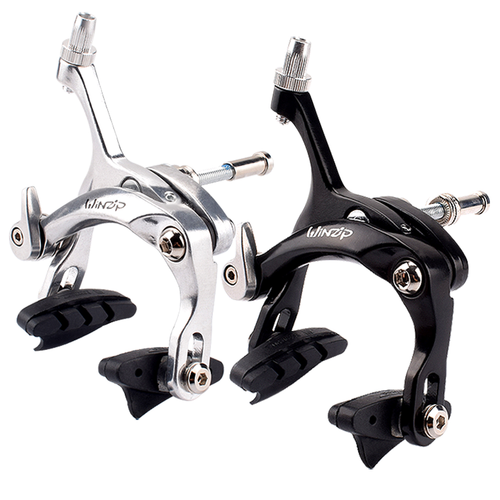MagiDeal Bike Friction Wheel Brake Bicycle Front Side Pull Caliper Brake Set 47-57mm