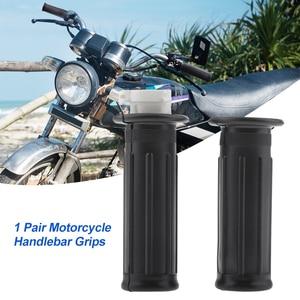 Image 1 - Универсальный мотоциклетный руль, 1 пара, для Yamaha PW50 PY50, 7/8 дюйма, аксессуары для мотоциклов