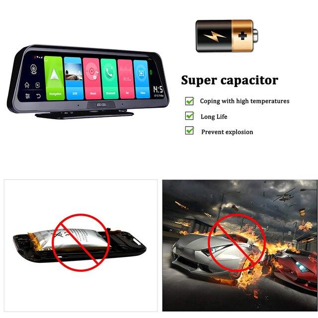смарт видеорегистратор bluavido 10 дюймов ips 4g android gps фотография