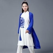 طقم مكون من 3 قطع من أزياء المرأة الصينية المحارب ، أزياء ووشو ، أزياء الكونغ فو ، أزياء المبارز تايتشي ، أزياء تاي تشي TA1844