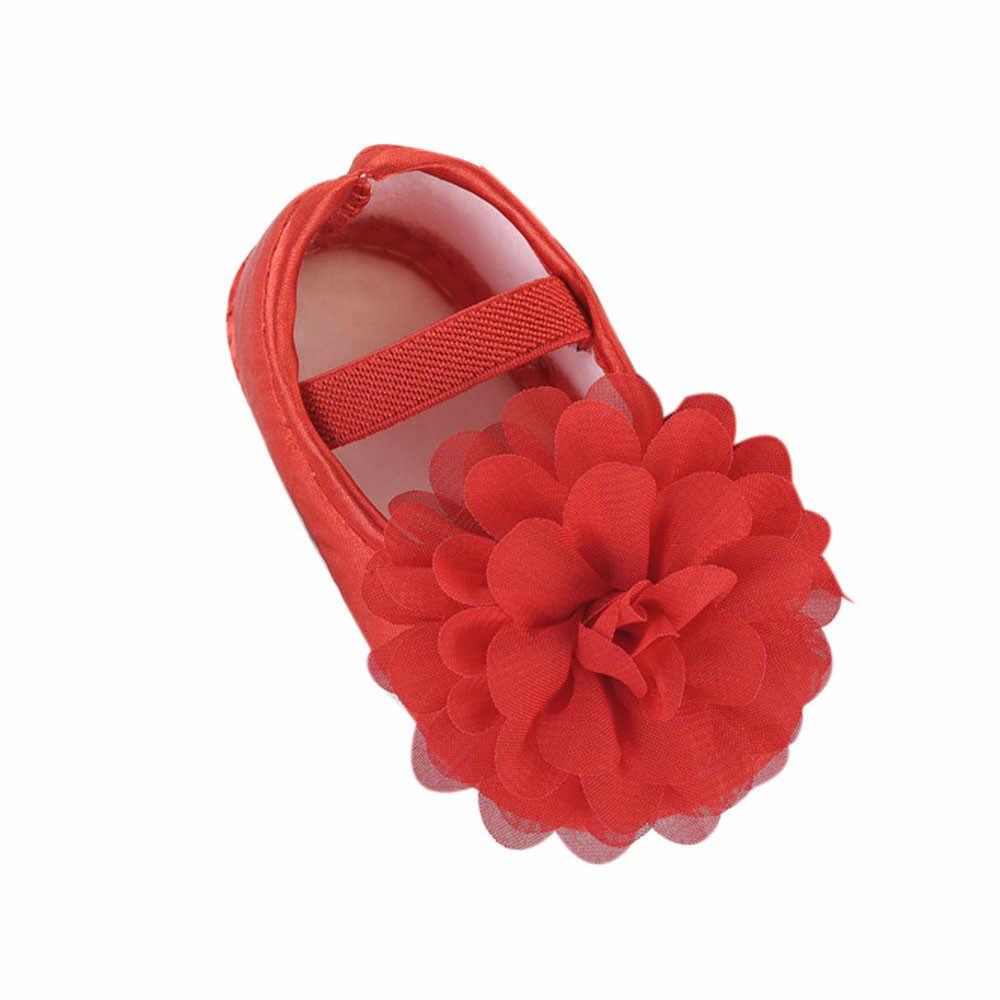 SAGACE Bebé Zapatos de niñas 2019 niño chico bebé niña flor banda elástica recién nacido zapatos de bebé zapatos lindos zapatos