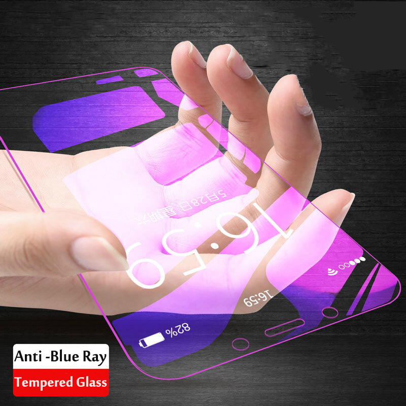 Anti Blue Tempered Glass For Samsung Galaxy S6 J6 J8 A9 A5 A6 A7 A8 Plus 2018 J2 J7 J5 Prime Screen Protector Protective Film