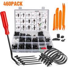 460PCS Hand-held Disassembly Tools set boxed buckle Screwdriver Crowbar Cable tie door panel Special car repair tool