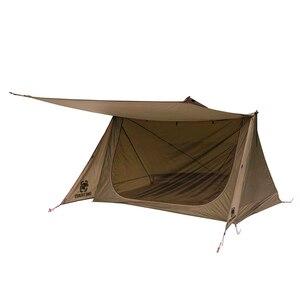 OneTigris 3 сезонная палатка с лесным массивом, сверхлегкая палатка в стиле пекаря для бушкрафтеров и выживших походов