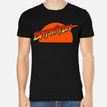Baywatch Pamela Anderson David Hasselhoff homme T-Shirt noir vêtements 6-A-350(China)