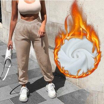 Rockmore Baggy Pencil Pants Women Plus Size Black Winter Wide Leg Sweat Pants Oversized Joggers Streetwear High Waisted Trousers 15