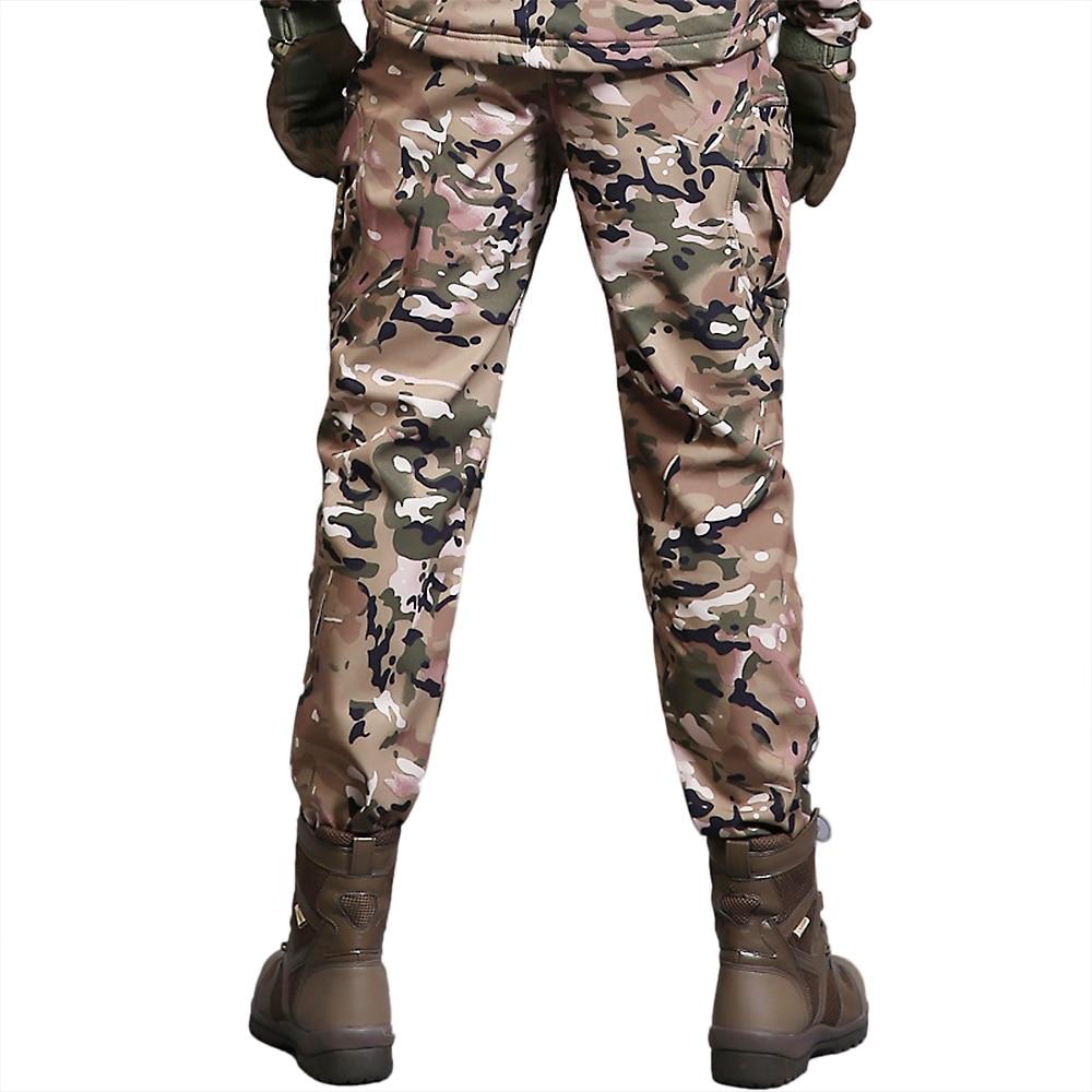 New Winter Men'S Outdoor Sports Windproof Pants Hiking Pants Outdoor Trousers Camping Hiking Climbing Fishing Mountain Pants