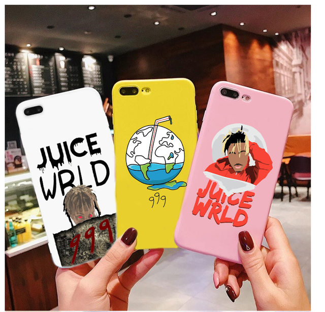 JUICE WRLD THEMED IPHONE CASE (19 VARIAN)