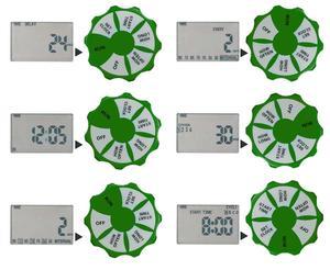 Image 5 - Bahçe otomatik 4 Zone sulama sulama zamanlayıcı sistemi bahçe su zamanlayıcı dahil olmak üzere 2 Solenoid valf