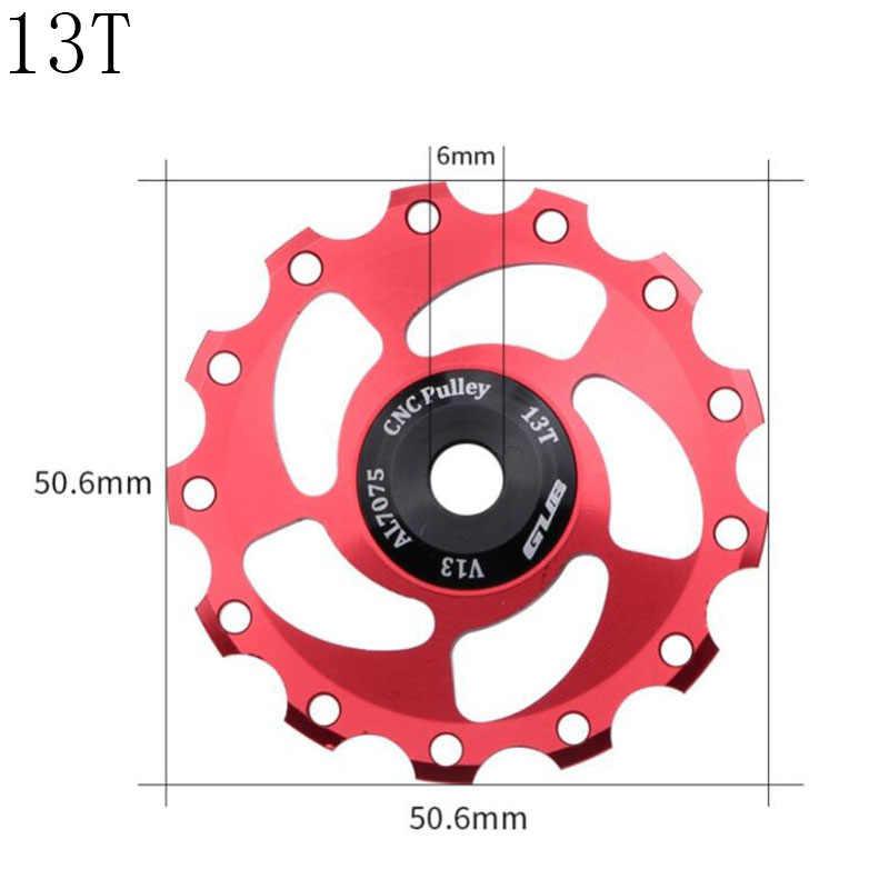 GUB 11T 12T 13T 14T vtt vélo arrière dérailleur Jockey roue 9/10/11 vitesse Guide poulie alliage CNC pour pour Shimano SRAM vélo de route