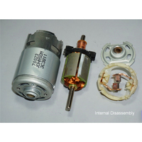 High Speed Power Large Torque DC 12V-18V Motor RS-775 Electric Power Tool Motor Spare Parts