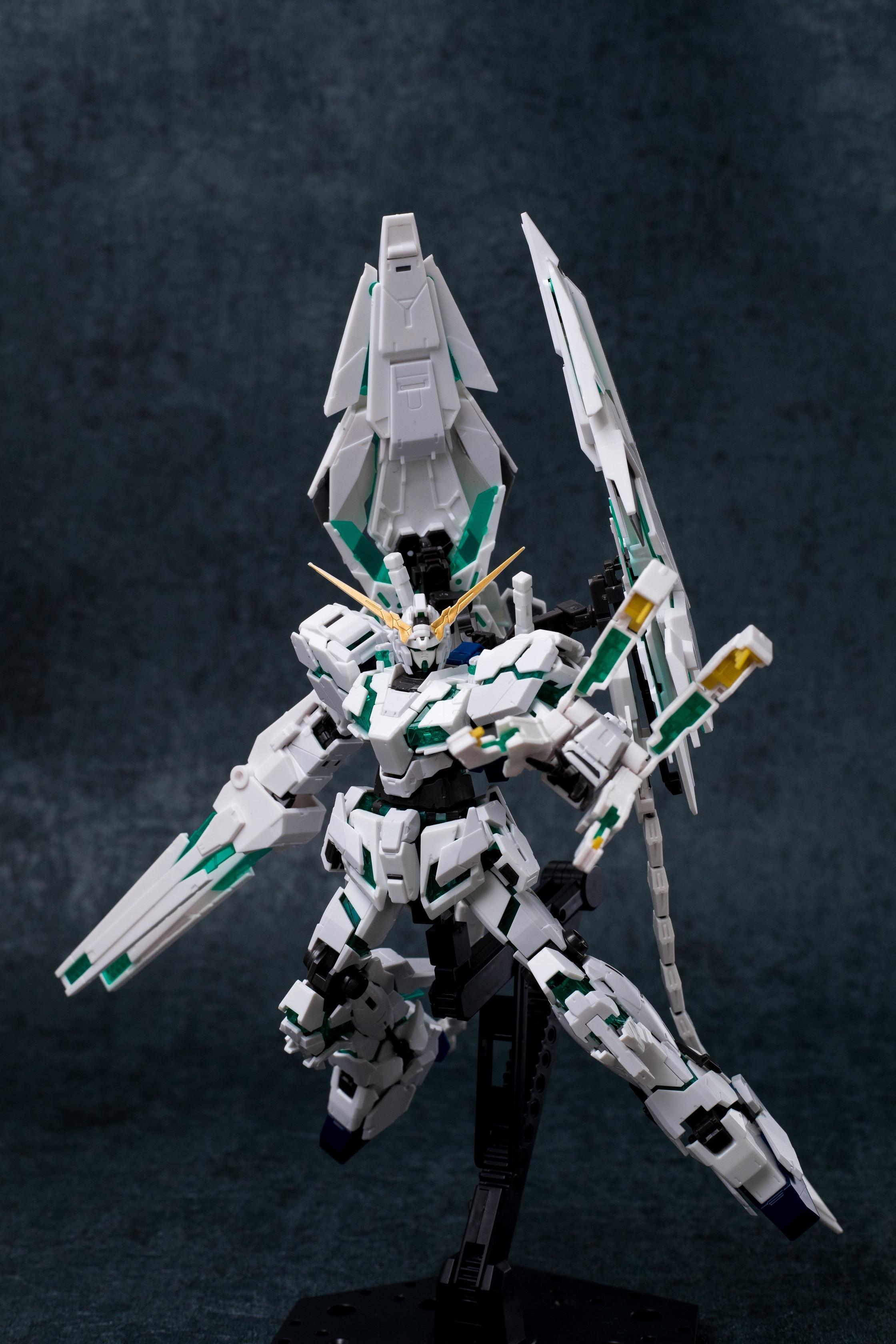 Эффекты крылья VN/BS оружие Набор для RG/HGUC 1/144 Единорог & Banshee & Phenex Gundam модель мобильного костюма