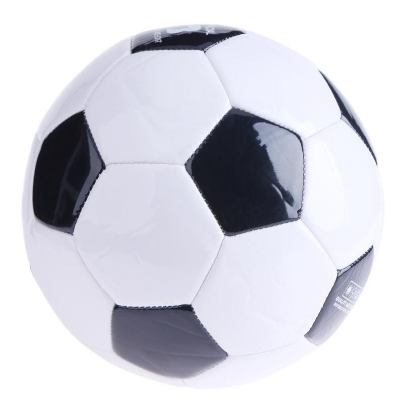 Soft Classic NO.3 Black White Standard Size Soccer Ball Training Football