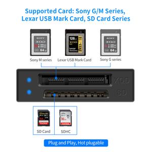 Image 4 - Rocketek USB 3.0/2.0 XQD Memory card reader High Speed Transfer Sony M/G Series for Windows/Mac OS computer