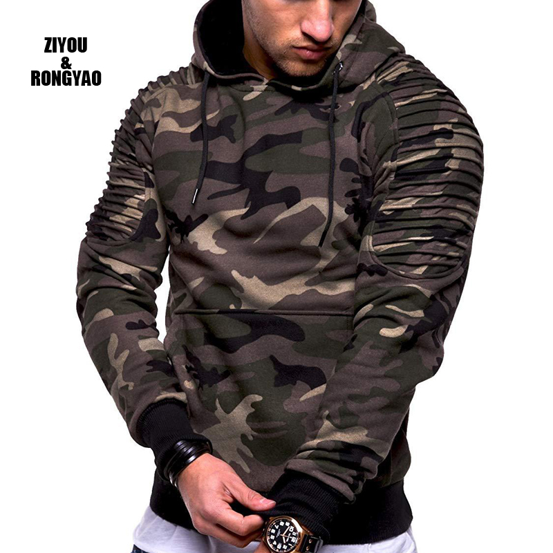 Толстовки для мужчин 2020 Новая мода толстовка мужской тонкий толстовка в стиле хип хоп, Осень зима, худи милитари мужские одежда США/EUR Размеры
