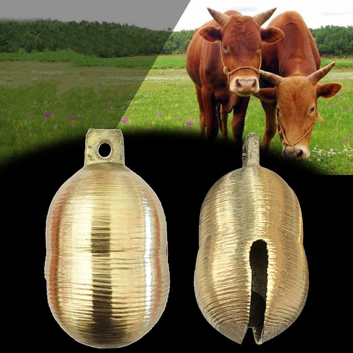 "Cow Bell 3/"" 1//pkg-copper"