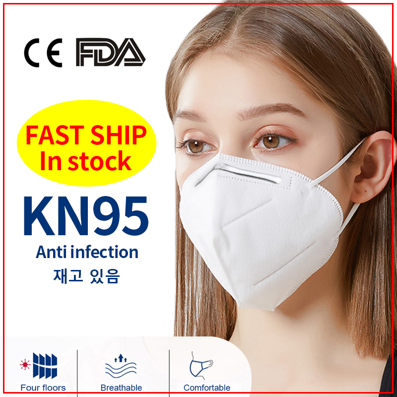 Face-mask-with-filters-for-kids Ship To USA & Worldwide Non-Disposable 5 Layer Nonwoven Elastic Earloop Care Kn-95maskes