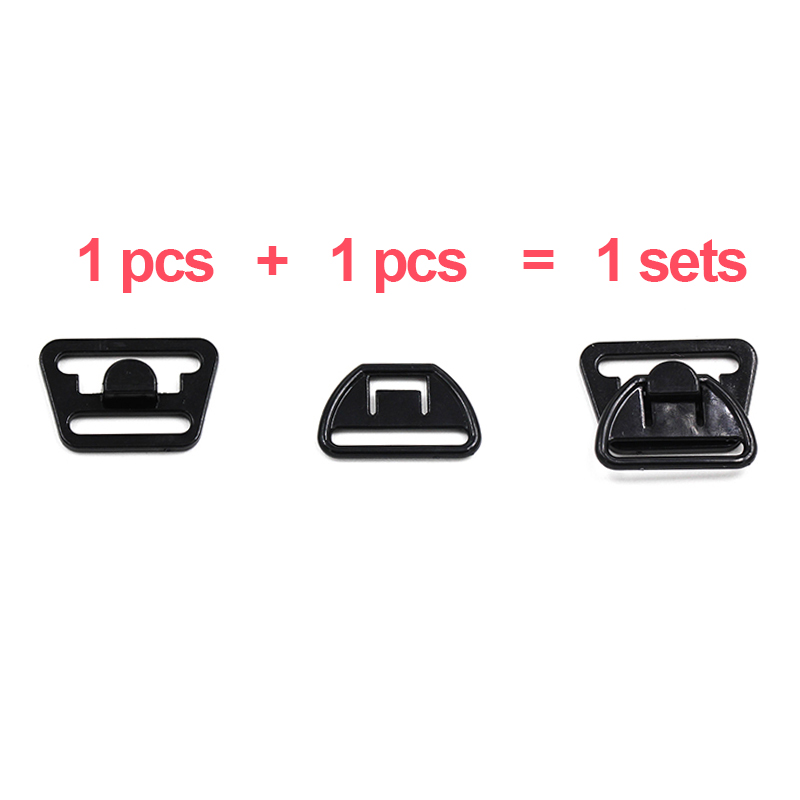 10pcs Plastic Nylon Breastfeeding Bra Buckle Accessories for Sewing Bra Clips Underwear in Buckles Hooks from Home Garden