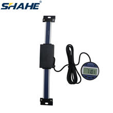 0-150 mm Aluminum Alloy Digital Linear Scale Digital Readout Remote Magnet Display Linear Scale External DRO Milling Lathe