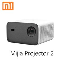 Xiaomi mijia Projector 2 Full HD 1080P Projector 800 ANSI Auto Keystone Correction Home Theater Support 4K Video Android Beamer