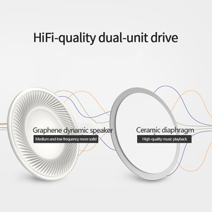Image 3 - Original Lenovo DP20 Earphone Double Voice Unit HIFI White Earphone In Ear Wired Earbuds for Mobile Phone Android Xiaomi Lenovo