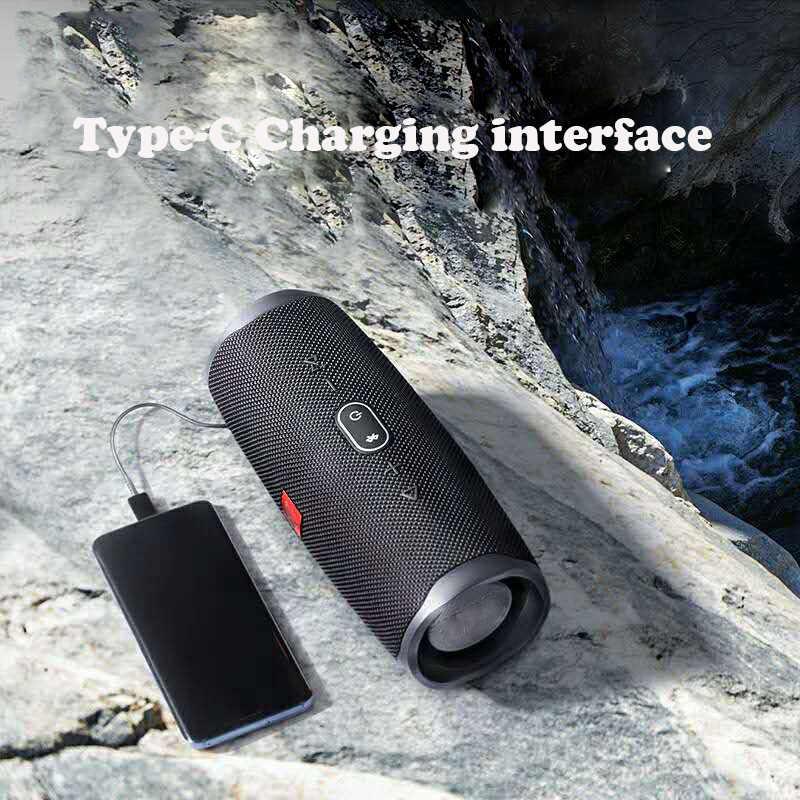 20W IPX7 wodoodporny głośnik bluetooth Charge4 bass podwójna membrana subwoofer stereo przenośny z zasilanie mobilne USB TF FM soundbox