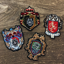 Fashion patch metal badge embroidery patch patch jacket badge decal DIY clothing decoration accessories embroidery patch front pocket design jacket