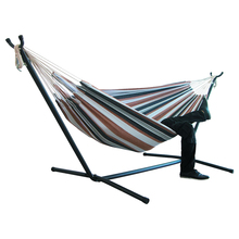 Two-person Hammock Camping Thicken Swinging Chair Outdoor Hanging Bed Canvas Rocking Chair Not With Hammock Stand 200*150cm