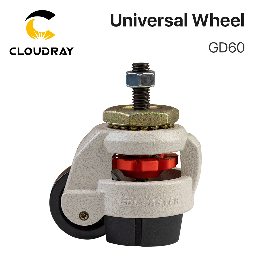 Cloudray Universal Wheel GD60 For CO2 Laser Cutting & Engraving Machine