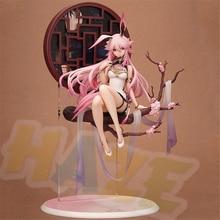 Anime Honkai Impact 3 Sakura Yae Heretic Miko cheongsam Figure Statue Toys Collection No Box 31cm масло для лица miko miko mi071lwctup8