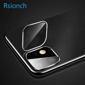 Image 4 - Rsionch Cho Năm 2019 Mới Táo Iphon 3D Lưng Camera Ống Kính Bảo Vệ Màn Hình Trong Cho iPhone 11 Pro Max 11 Pro 11