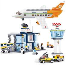 678 шт Детский конструктор «Международный Аэропорт»