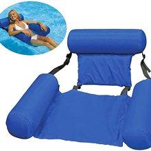 Pool Mattress Swimming-Chair Water-Hammock Floating Foldable
