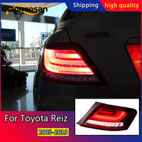 Car Styling Tail Lamp for Toyota Reiz Tail Lights 2005 2010 Mark X Dynamic turn signal LED Tail Light Rear Lamp Accessories