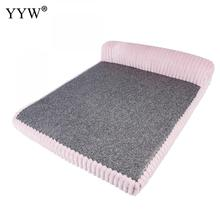 Creative Pets Bed Mat Soft Warm Fleece Paw Print Pet Puppy Dog Cat Blanket Sofa Product Cushion Cover Towel