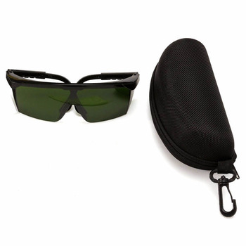 Dark Green OD4 + Laser Safety Goggles Glasses Protective Eyewear 200-540nm/532nm & Box Wholesale Price - discount item  20% OFF Workplace Safety Supplies