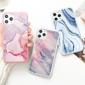 Fashion Gradient Marble Texture Case For Xiaomi Redmi Note 9 Pro 9S 8T 8 7 K20 9A 7A Mi Note 10 9T Poco f2 Pro A3 9 Lite Covers