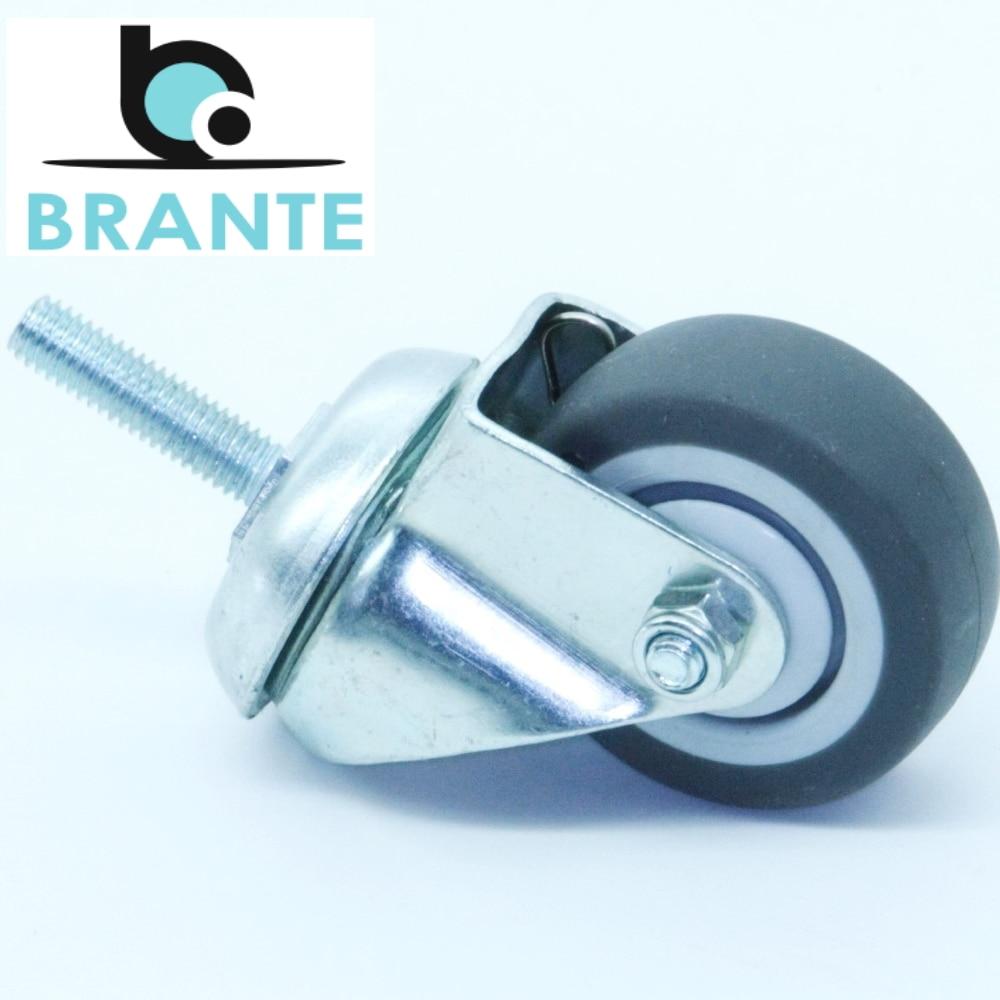 Roulettes de meubles Brante 655059 matériel roues pour une chaise roulette pour meubles patins à roulettes