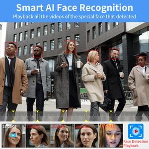 Image 2 - Hiseeu H.265 8CH 5MP POE אבטחת מצלמה מערכת ערכת AI פנים זיהוי אודיו שיא IP מצלמה IR CCTV וידאו מעקב NVR סט