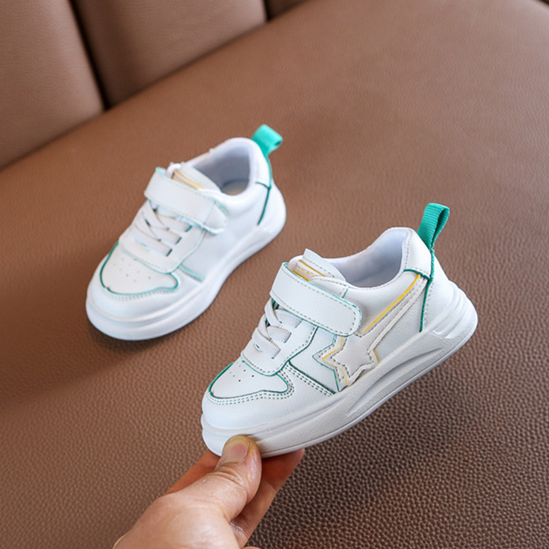 DIMI 2020 Spring Infant Shoes Boy PU Leather Soft Toddler Shoes  0-3 Year Flat Baby Sneakers Girl Walkers Shoes
