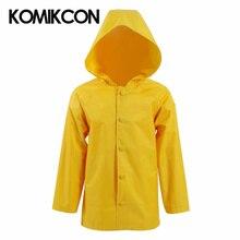 """Стивен Кинг это Косплей Джорджи денбро костюм """"дождевик"""" желтый дождевик Хэллоуин Рождество костюм для женщин мужчин детей"""