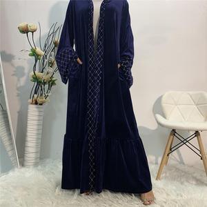 Muslim Fashion Abayas for Women Cardigan Prayer Hijab Dress Turkey Open Abaya Dubai Kaftan Caftan Marocain Islam Clothing Robe