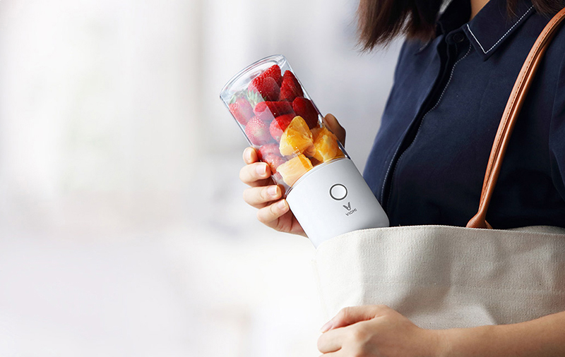 XIAOMI VIOMI Blender Handheld Portable Juicer For Electric Kitchen Mixer Fruit Cup Food Processor 45 seconds quick Juicing 3