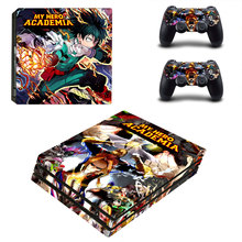 My Hero Academia Style Skin Sticker for PS4 Pro Console And Controllers Decal Vinyl Skins Cover YSP4P-3312