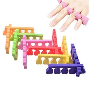Image 1 - 20pc = 10 זוג 2019 מקצועי נייל אמנות הבהונות פופולרי אצבעות מפרידי רגליות רך ספוג יופי כלים חוצצים מניקור פדיקור