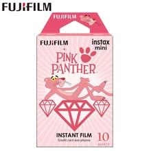 10 feuilles Fujifilm Instax Mini Film Instax Mini 11 8 9 Film panthère rose pour Fuji Mini 7s 25 26 70 90 SP 1 dappareil photo instantané SP 2