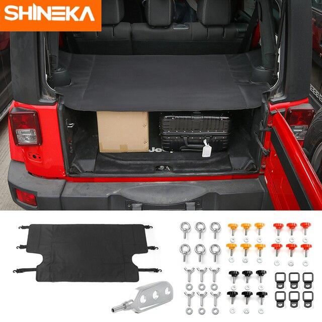 SHINEKA 4 דלתות רכב Trunk כיסוי זנב דלת בורג אבזם לפרק לפרק לרדת כלי Remover עבור ג יפ רנגלר JK 2007 +