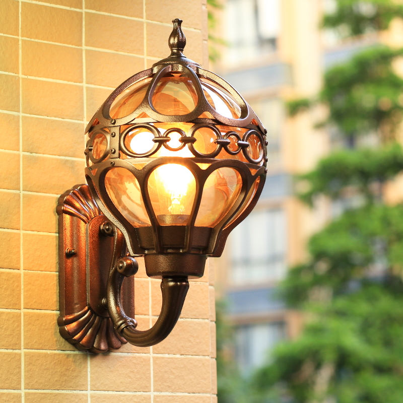 Outdoor Lighting Waterproof Wall Lamp