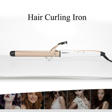 CHJPRO Hair Curlers Electric Ceramic Curling Iron Travel Salon Curly Wave Portable Curler Rotating